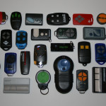 An image of the most popular garage door remotes sold by A1 Garage Doors